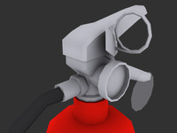 3d extinguisher - model