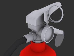 3d extinguisher - model