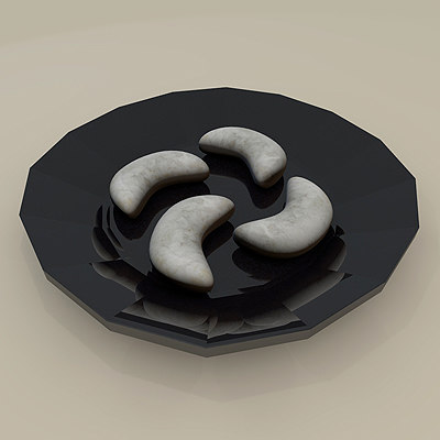 3d model kavala cookie