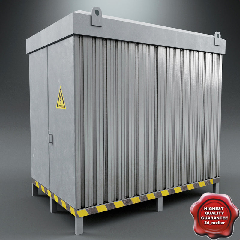 transformer vault 3d model