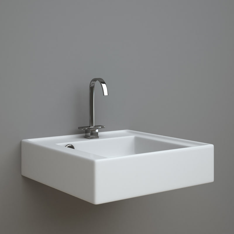 althea jazz wash-basin 3d model