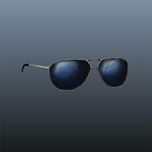 aviators sunglasses 3d ma