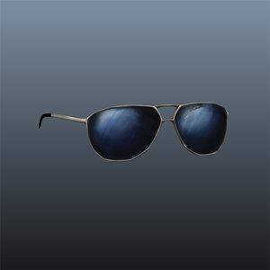 aviators sunglasses 3d ma