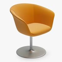 3ds max armchair swivel chair