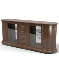 Classic  Showcase chest sideboard armorie buffet cupboard traditional