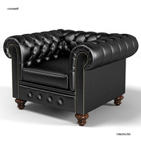cromwell chesterfield traditional tufted classic armchair chair buttoned leather chesterfields1780
