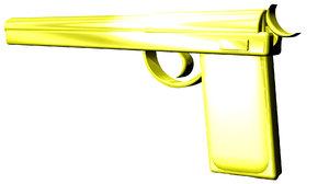 free field sniper 3d model