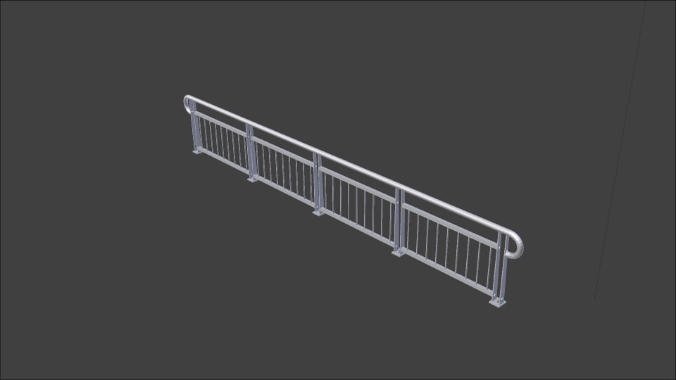 42 handrail blend