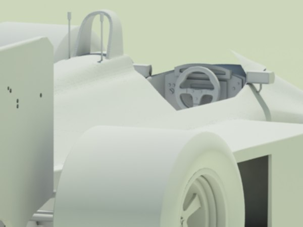 mclaren mp4-4 cooling scoops 3d model
