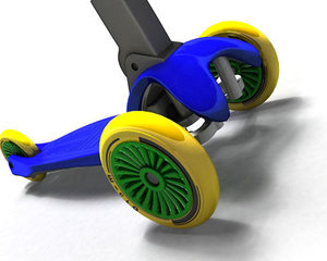 3d scooter