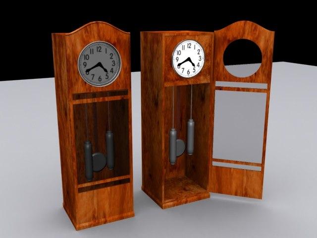 pendulum clock max