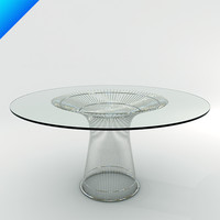 platner dining table 3d max