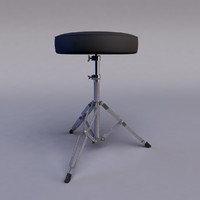 drum stool 3ds