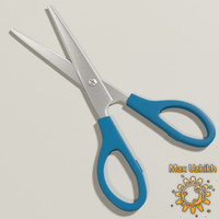 free scissors 3d model