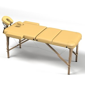 3ds max sand massage table