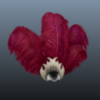 showgirls hat 3d model