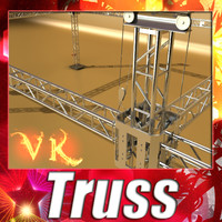 Truss System 2.0 - High detailed.