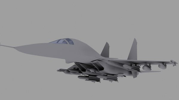 3d model su-34 strike