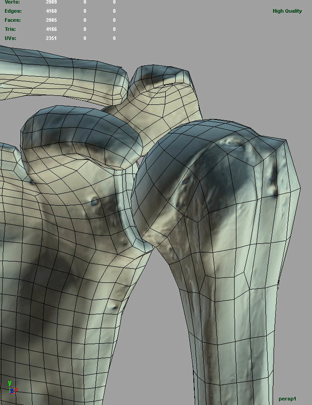 arm mapped uberarm 3d ma