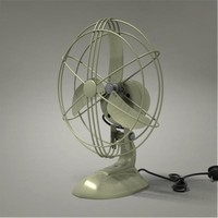 antique table fan