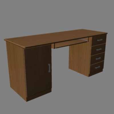 maya computer desk