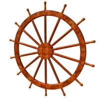ship steering wheel 3ds