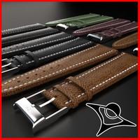 3dsmax watch strap