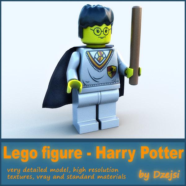 lego character - harry potter obj