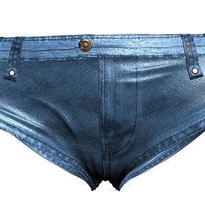 3d jeans shorts model