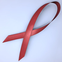 AIDS ribbon_C4D