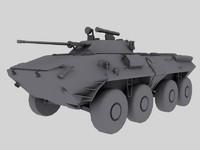 BTR-90 Russian APC Game Model