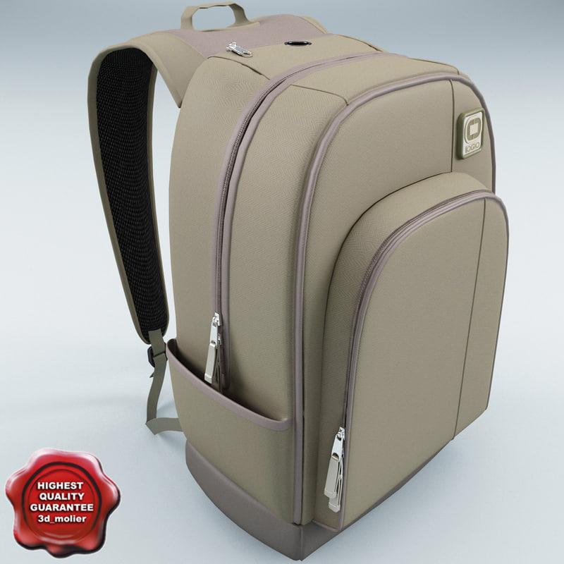 backpack ogio flux 3d 3ds