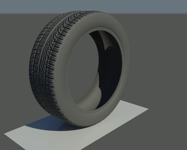 3d tire bridgestone potenza re960as