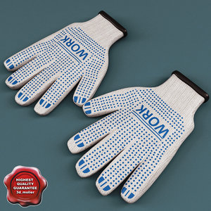 maya cotton work gloves