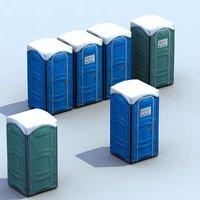 PortaLoos Toilets 3D