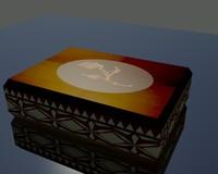 max box wooden wood