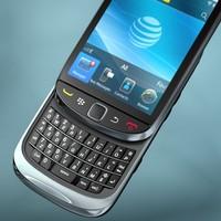 Blackberry Torch 9800_ OBJ/3DS/FBX