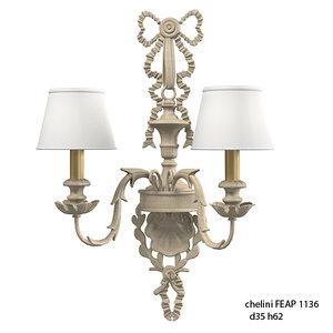 3d model chelini feap 1136