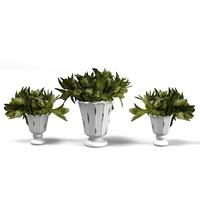 3d classic vase planter