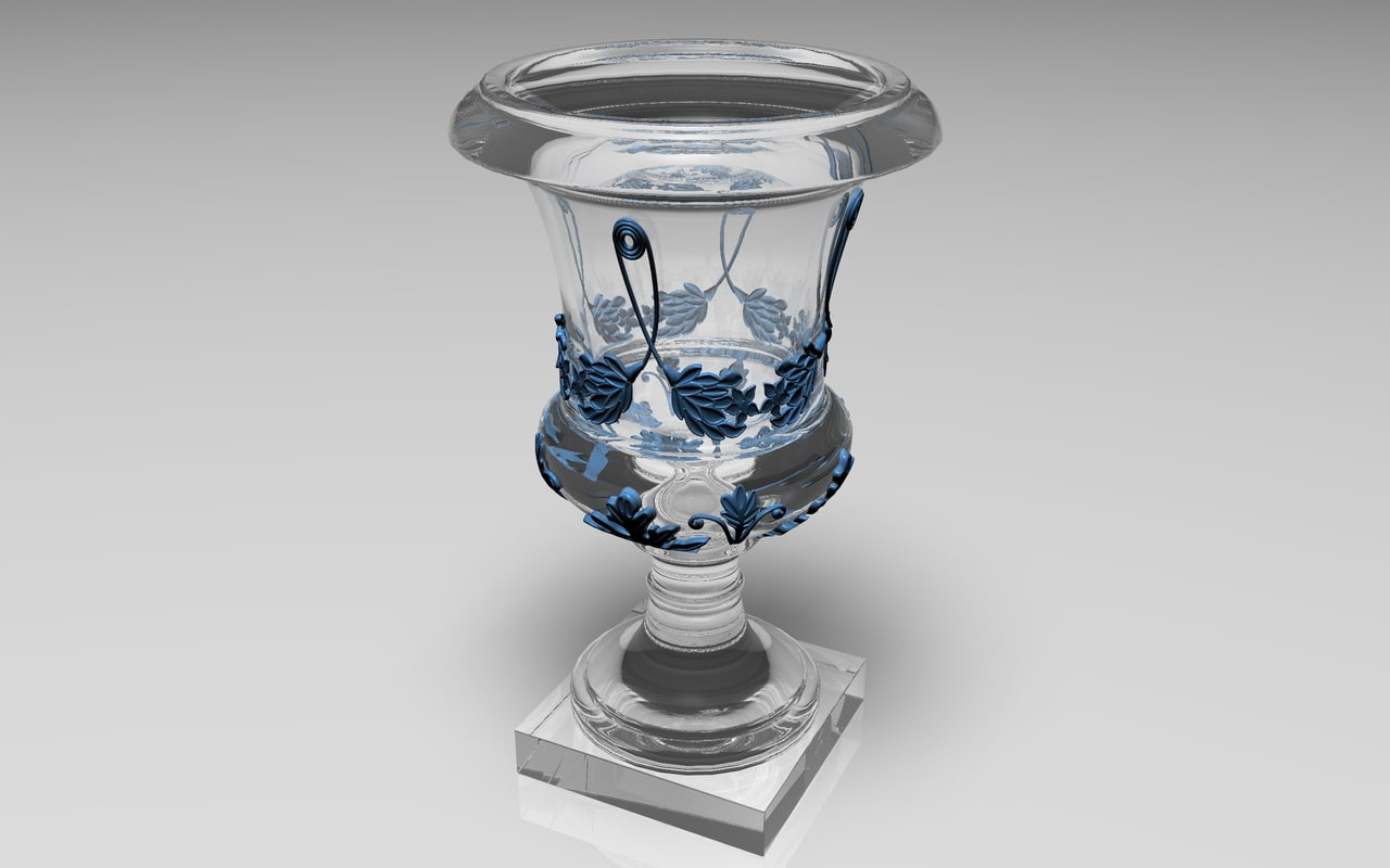 3d model decorative vase
