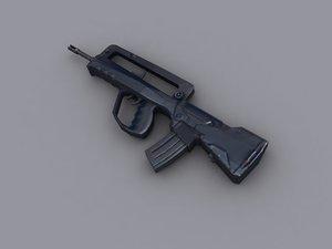 maya assault rifle famas