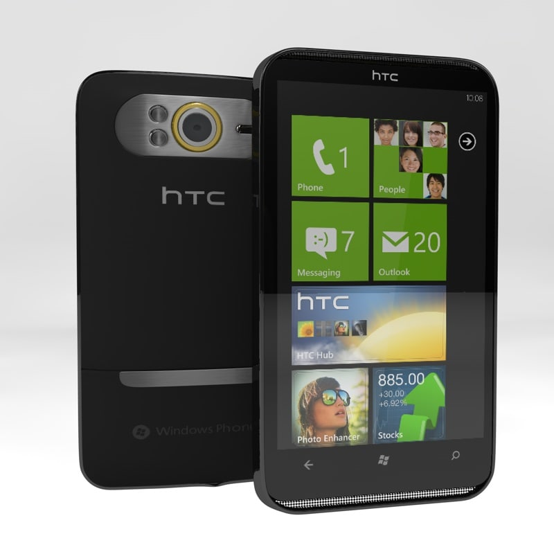 htc hd7 smartphone phone 3ds