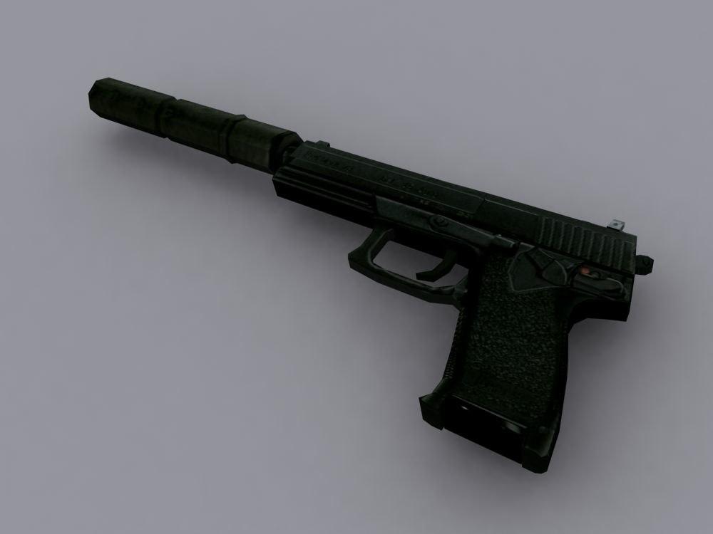 s mk23 gun pistol