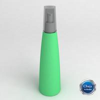 spray 3d model