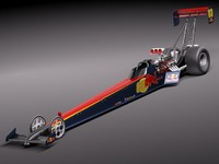 3d model fuel topfuel dragster 2011