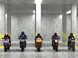 3d 5 bikes