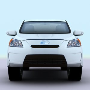 2010 toyota rav4 ev 3d model
