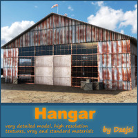 3d old hangar