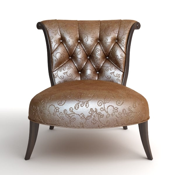 classical leather chair max