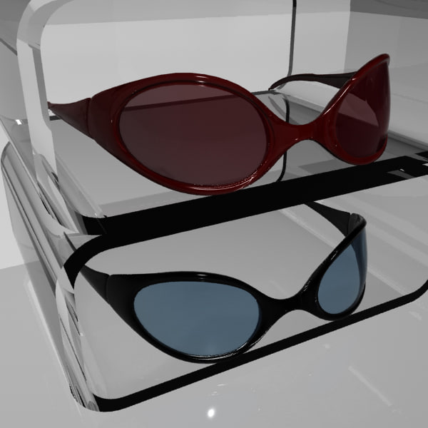 sun glasses 3d model